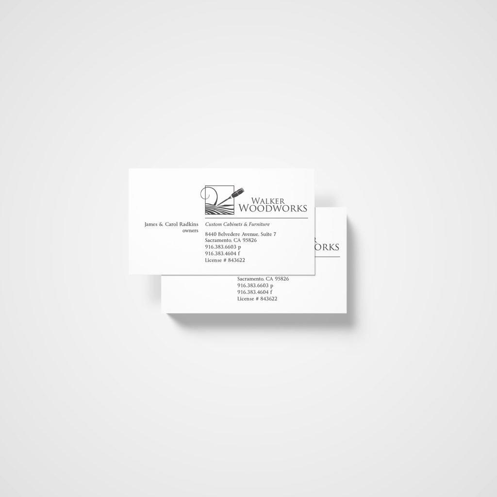 Walker Woodworks Businesscards