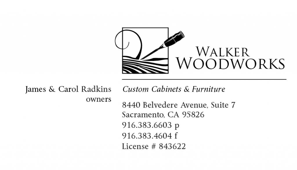 Walker Woodworks Businesscard