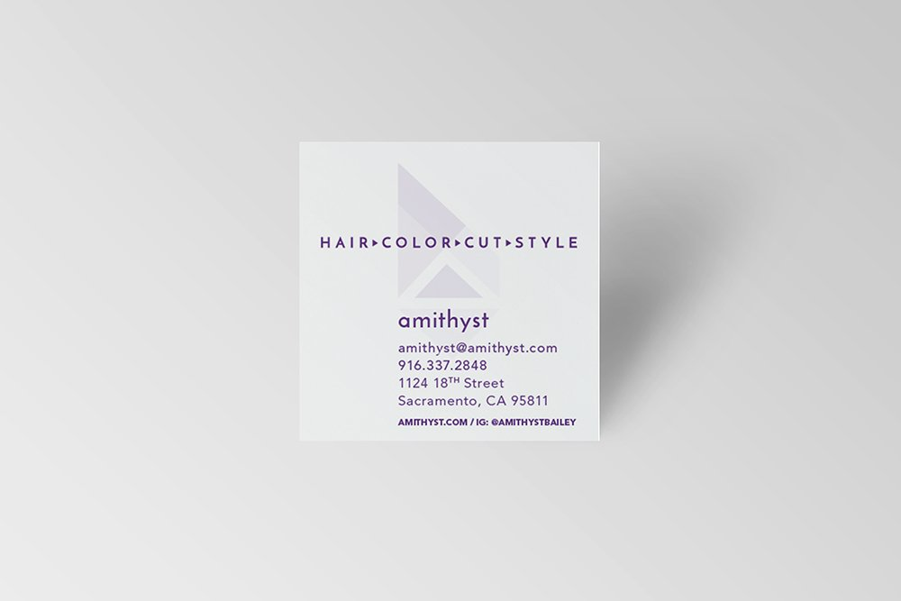 Amithyst Business Card
