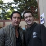 Meeting Trent Reznor, May 2009