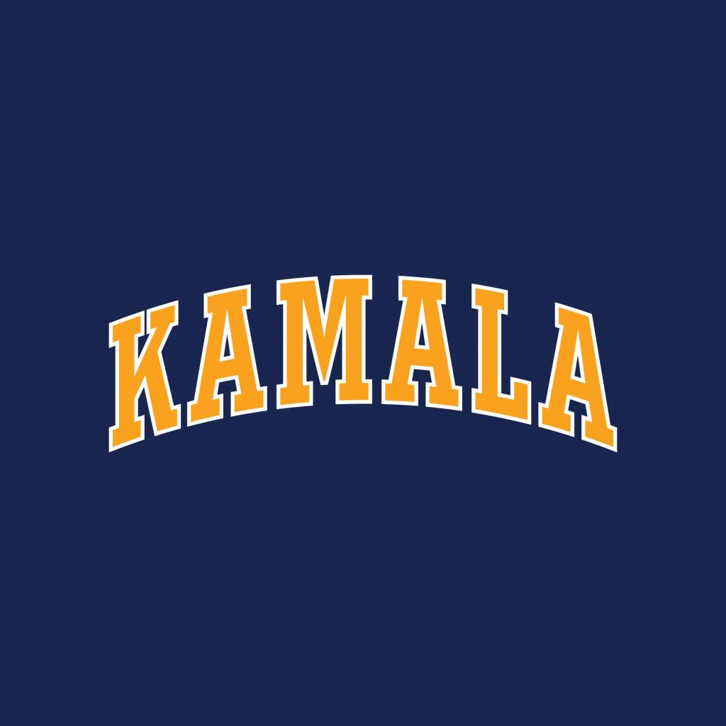 """Tilted Brim """"Kamala"""" graphic for Tilted Brim"""
